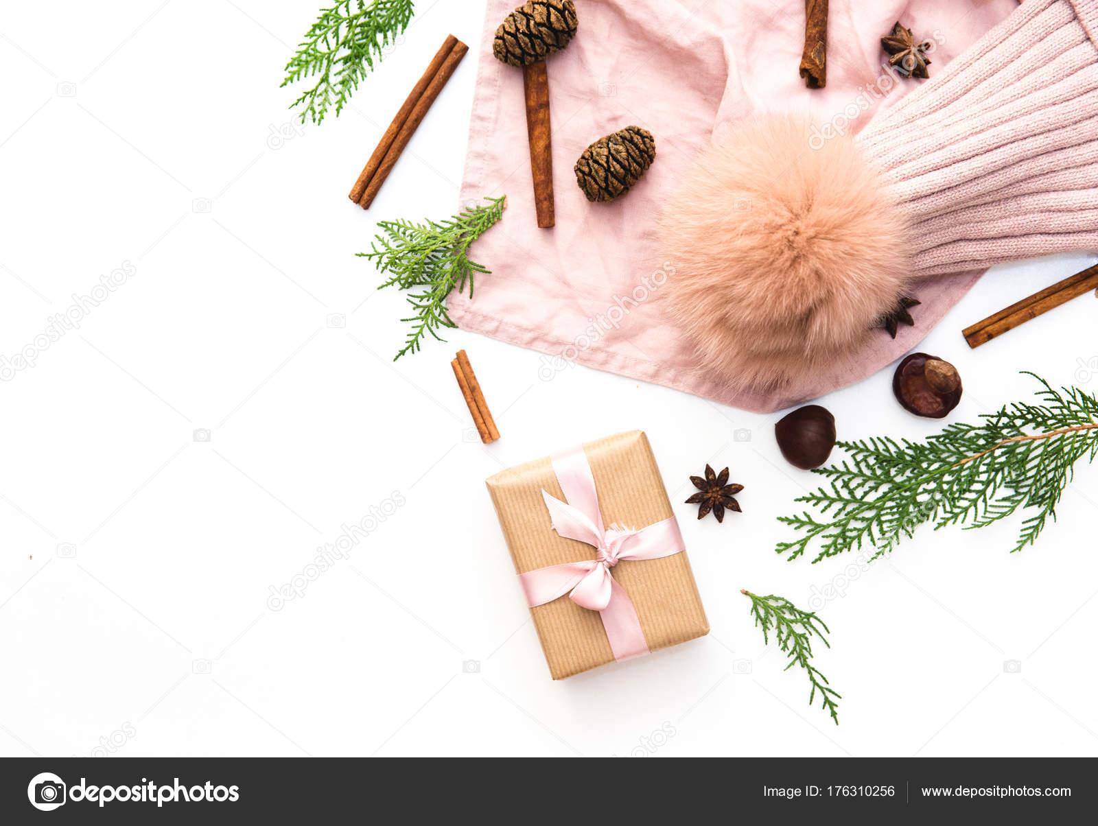 Handwerk Und Handarbeit Weihnachten Präsentieren Geschenk Boxen Und ...