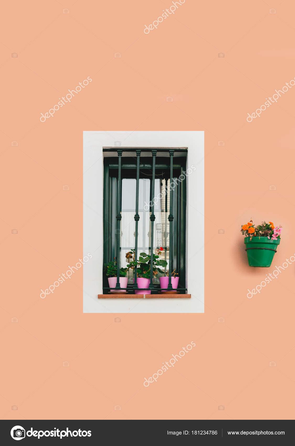 Andalucia Ländliche Gestaltung Des Hauses Spanien Europa Fenster Mit ...