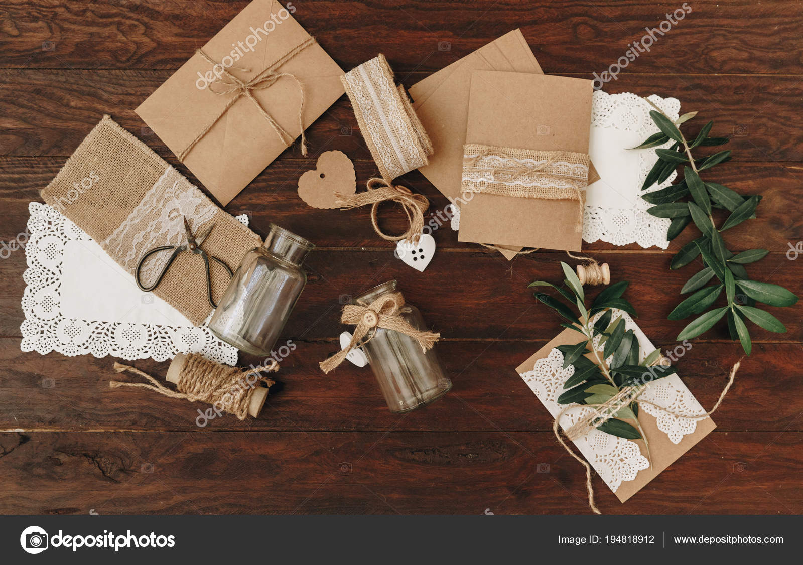comment faire des faire part mariage notion bricolage rustique poser