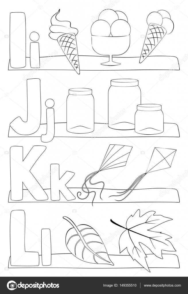 alfabet letters kleurplaat stockvector 169 pupahava 149355510