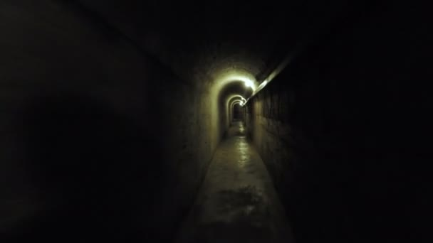 тоннель из бетона