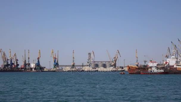 Berdyansk of seaport