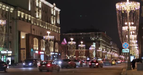 Move of cars to Tverskoy
