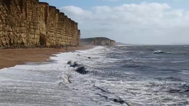 West Bay sziklák Dorset, Anglia