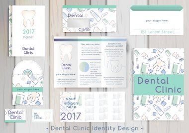 Dental Clinic corporate identity template