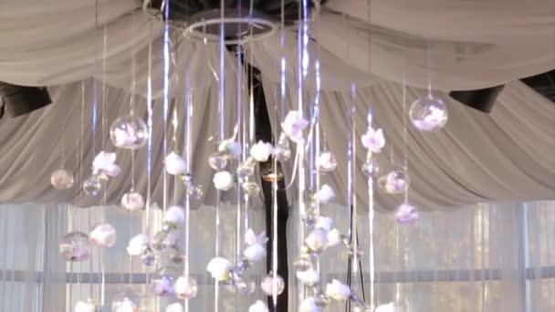 Illuminazione arredamento lampadina perline di vetro perle di