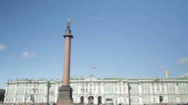 Zobrazit Zimní palác v Petrohradě. Rusko. Zimní palác čtvercové petersburg