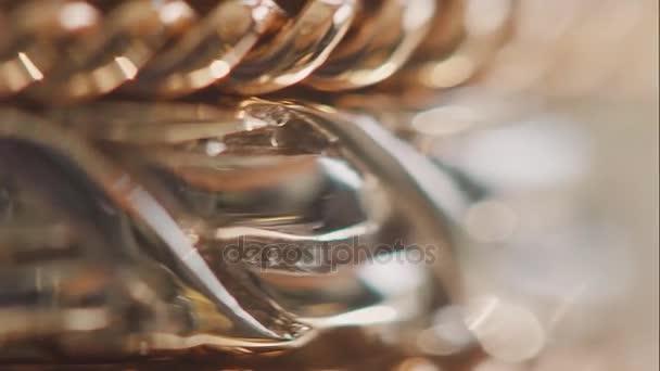 Antik arany karkötő háttér. absztrakt háttér arany csillog. Karakterlánc-gyémánt karkötőt háttér