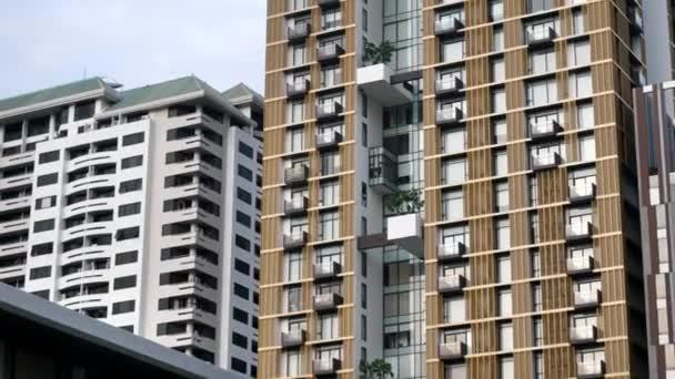 Gratte ciel de bangkok vue de paysage urbain de bangkok bureau