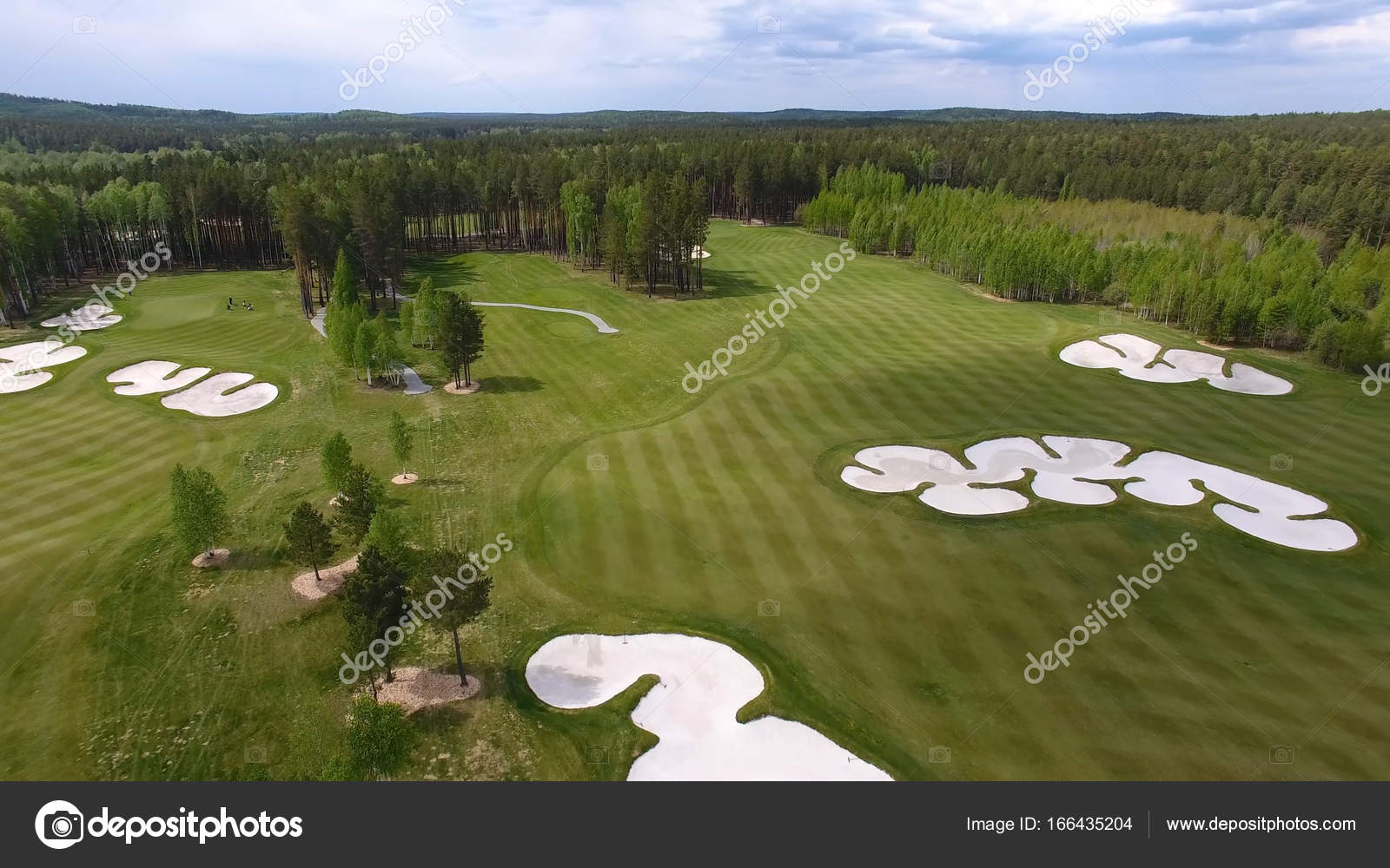 grass field aerial. Top View Green Golf Course Outdoor Grass Field. Aerial From Flying Drone \u2014 Field I