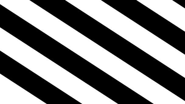 Černé a bílé pruhy. Abstrakce, bílé černé pruhy. Geometrické tvary z černé a bílé čáry tvořící tunel