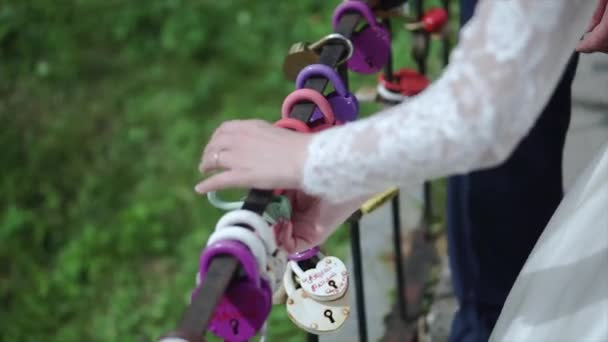 The Decorative Lock In Hands Of Newlyweds Clip Wedding Symbol Of