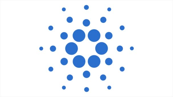 Virtual cryptocurrency - financial technology and internet money. Concept of Cardano ADA Coin , a Cryptocurrency blockchain platform , Digital money