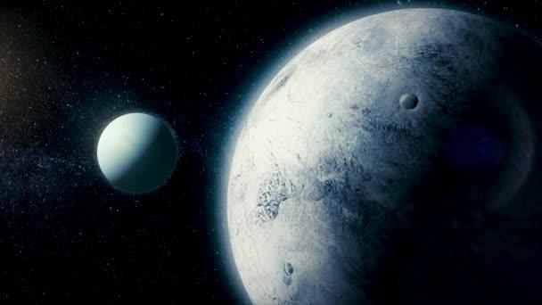 Szolár-rendszerek - Ariel műholdat. Ez, a legtávolabbi és a nyolcadik bolygó a naptól, a Naprendszerben. Urán van 27 ismert műholdak