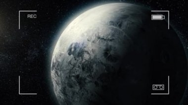 Gas giant planet. Beauty of deep space. Billions of galaxies in the universe. Incredibly beautiful. Ganymede