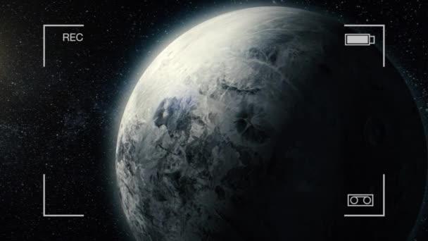 Plynového obra. Krása z hlubokého vesmíru. Miliardy galaxií ve vesmíru. Neuvěřitelně krásné. Ganymed