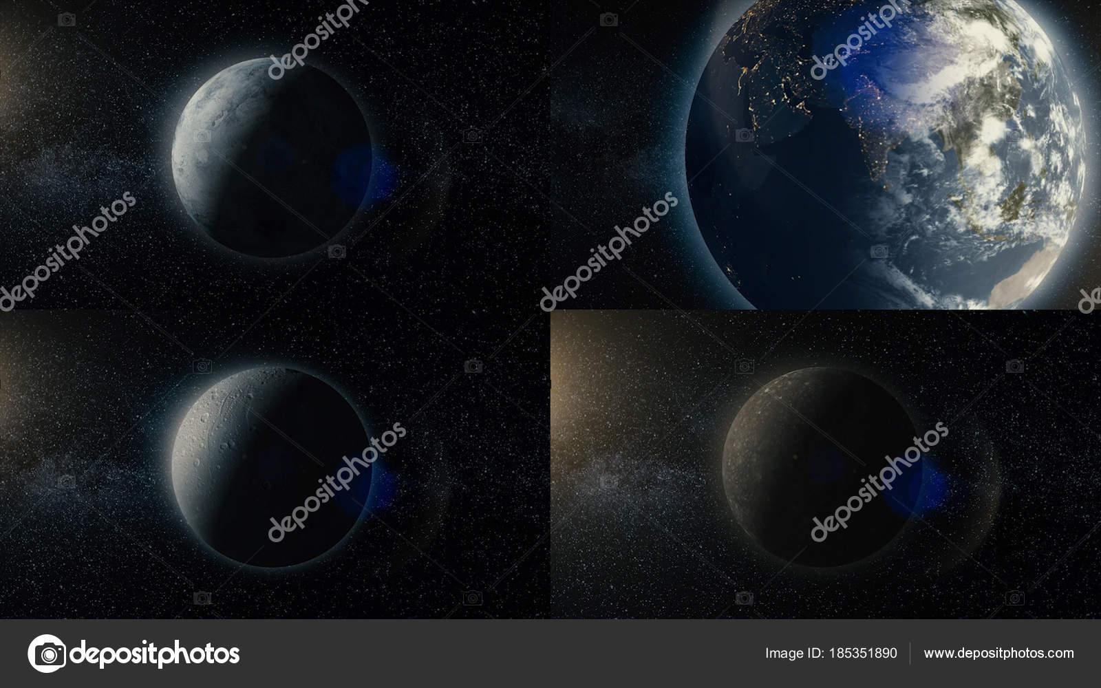 Set of animation planets and satellites of solar system clip set of animation planets and satellites of solar system clip animation of looped space publicscrutiny Choice Image