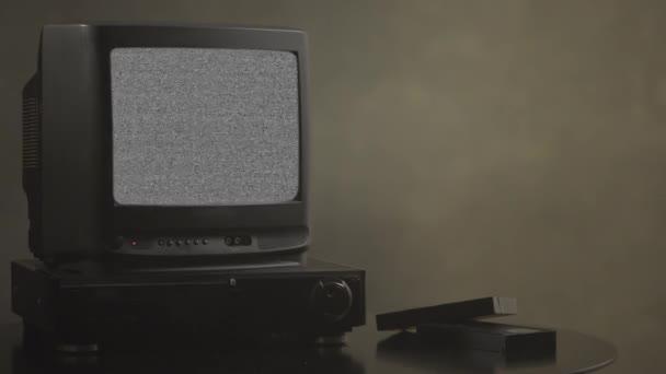 TV s hlukem. TV karta testu. Retro hardware 1980. Závada umění show statické chyba, nefunkční převodovka. Pixelů obrazovky tv hluku rušivých signálů