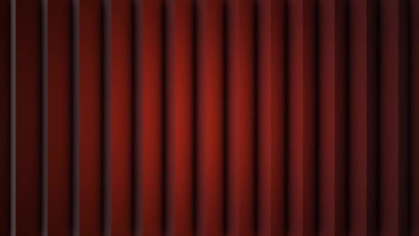 Abstraktní měkké barevné pruhy červené čáry pozadí nové kvalitní univerzální pohyb dynamické animované barevné radostné video záznam. Svislé čáry