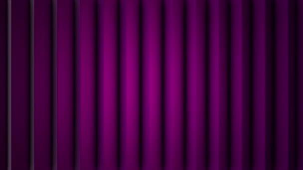 Abstraktní měkké barevné pruhy fialové čáry pozadí nové kvalitní univerzální pohyb dynamické animované barevné radostné video záznam. Svislé čáry