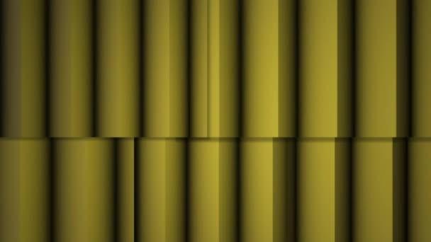 Abstraktní měkké barevné pruhy Žluté čáry pozadí nové kvalitní univerzální pohyb dynamické animované barevné radostné video záznam. Svislé čáry