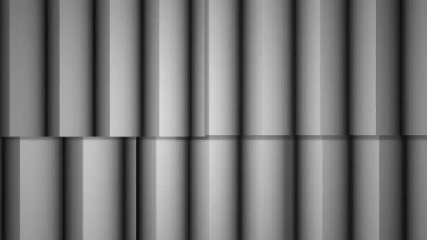 Abstraktní měkké barevné pruhy bílé čáry pozadí nové kvalitní univerzální pohyb dynamické animované barevné radostné video záznam. Svislé čáry