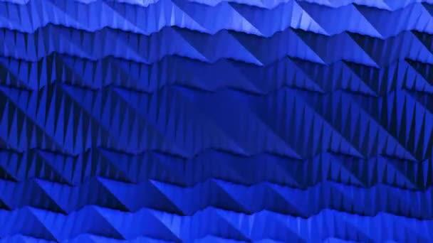 Abstraktní tech minimální geometrického čtverce a vedení pohybu grafické pozadí. Pohyb 3d abstraktní pozadí vlny. Luxusní a elegantní dynamický styl šablony. 3D abstraktní pohyb Mnohoúhelníkový vzor