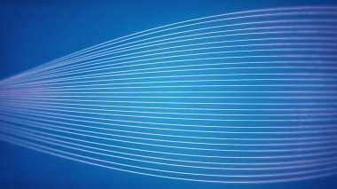 Seamless background animation of abstract wave form. flowing streaks. Motion graphic and animation background. Slow flowing black and white particle abstract background Computer Designed Animation