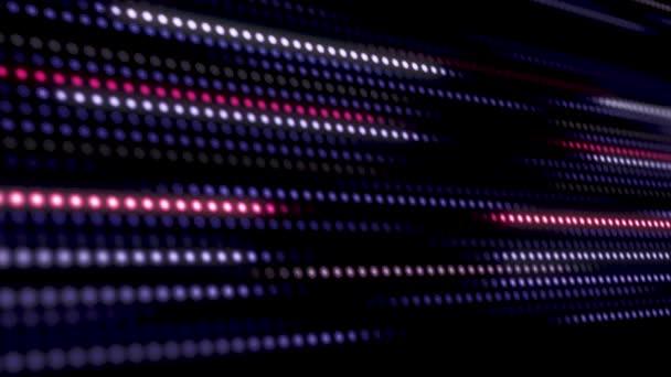 Abstraktní okrasné měkké duhové barvy náhodné pohyblivé pozadí. Abstraktní pozadí pohybu. Loop připravené animace