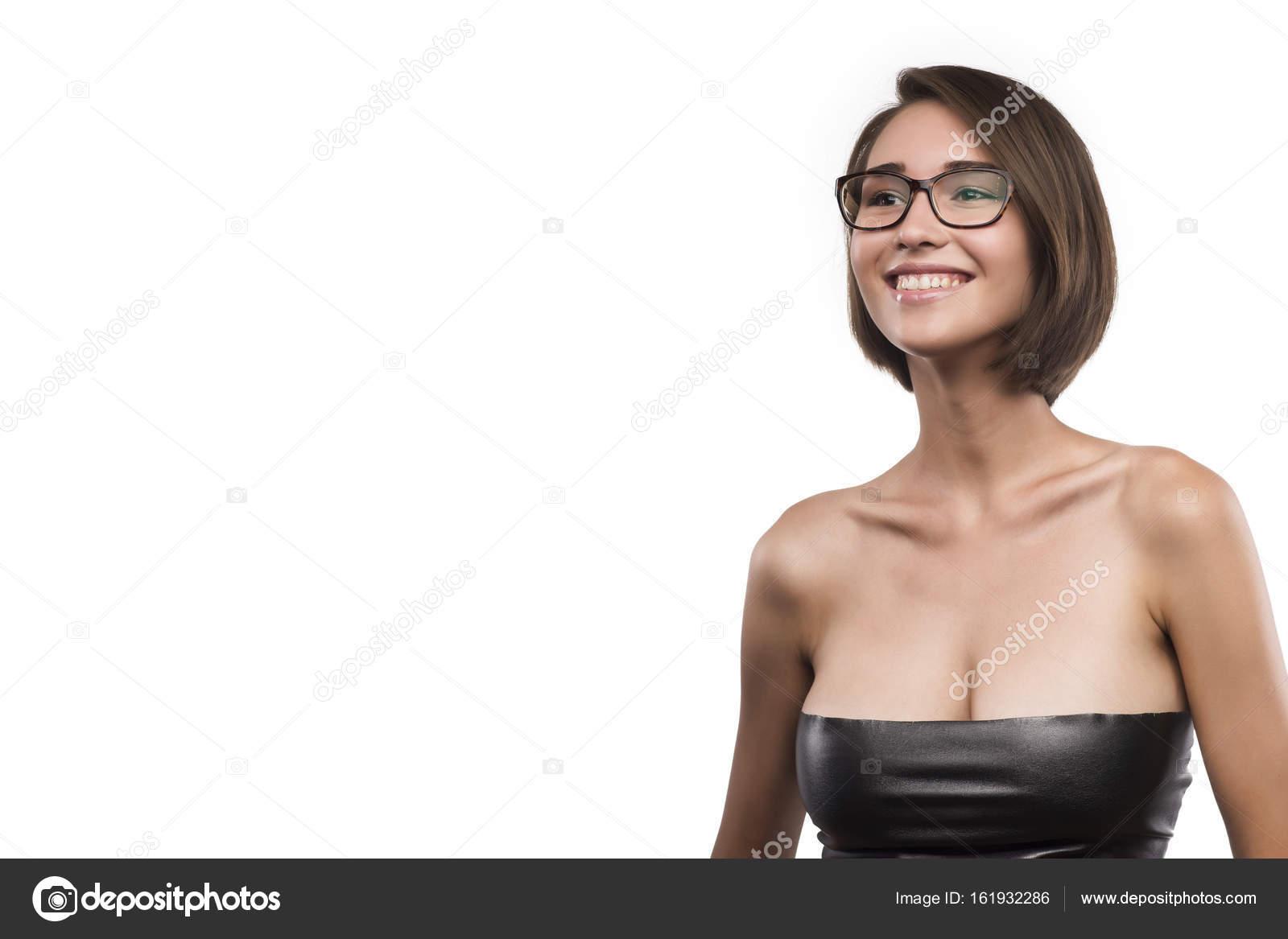 Женщины в очках с большой грудью, секс женщин легкого поведения