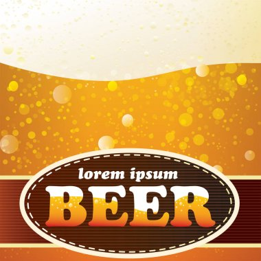 Realistic texture of beer.