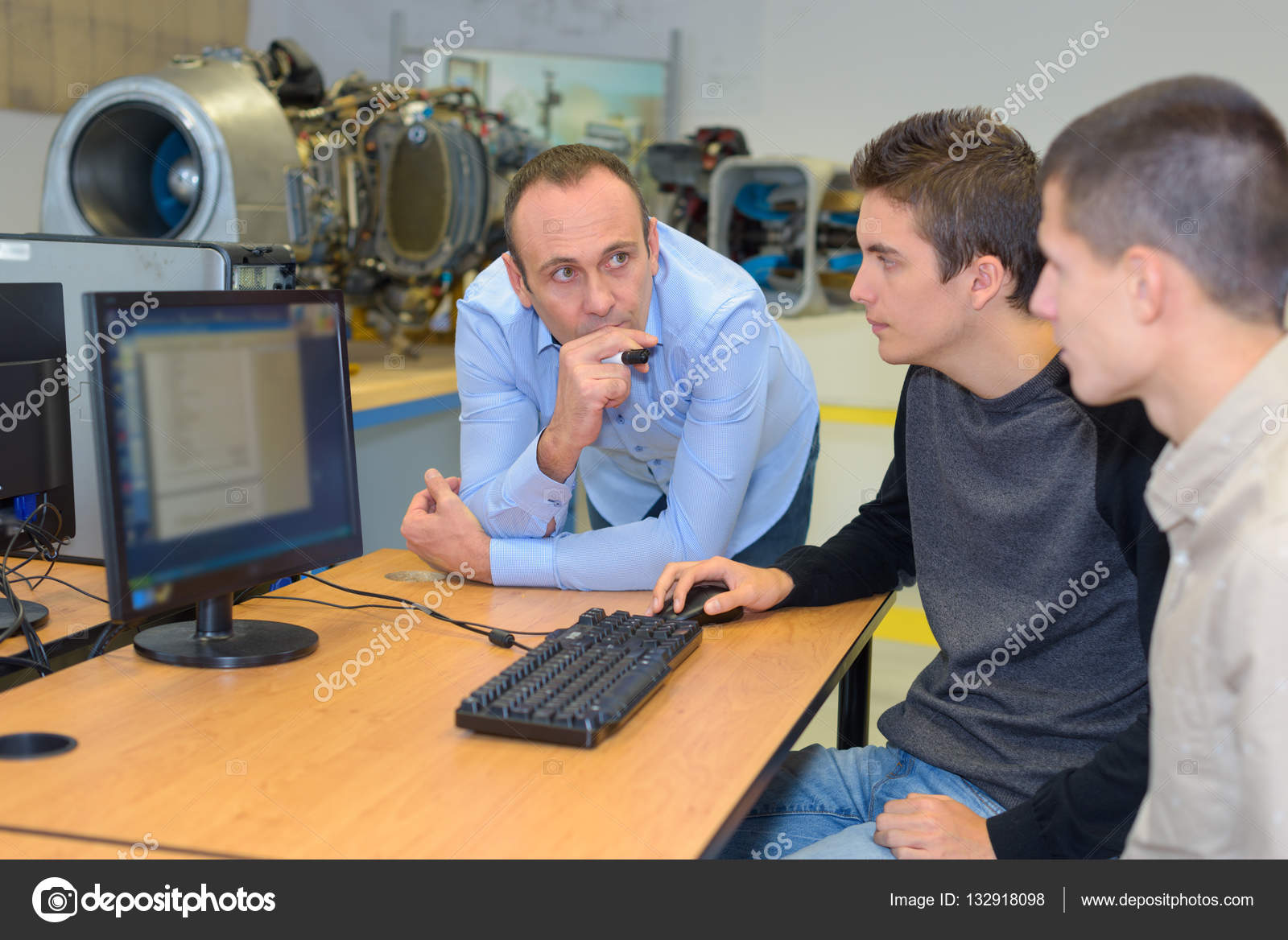 studenten hulp computer
