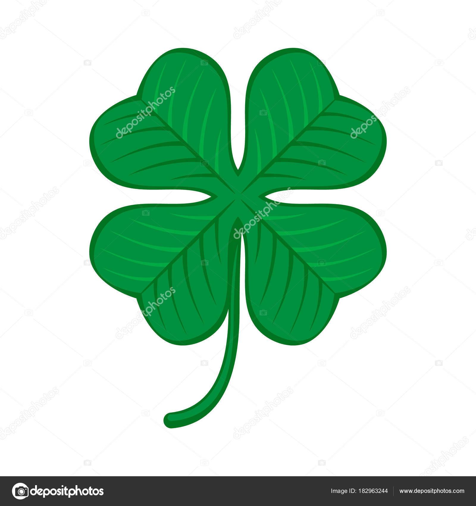 Green shamrock clover icon irish symbol of luck stock vector green shamrock clover icon irish symbol of luck stock vector biocorpaavc Gallery