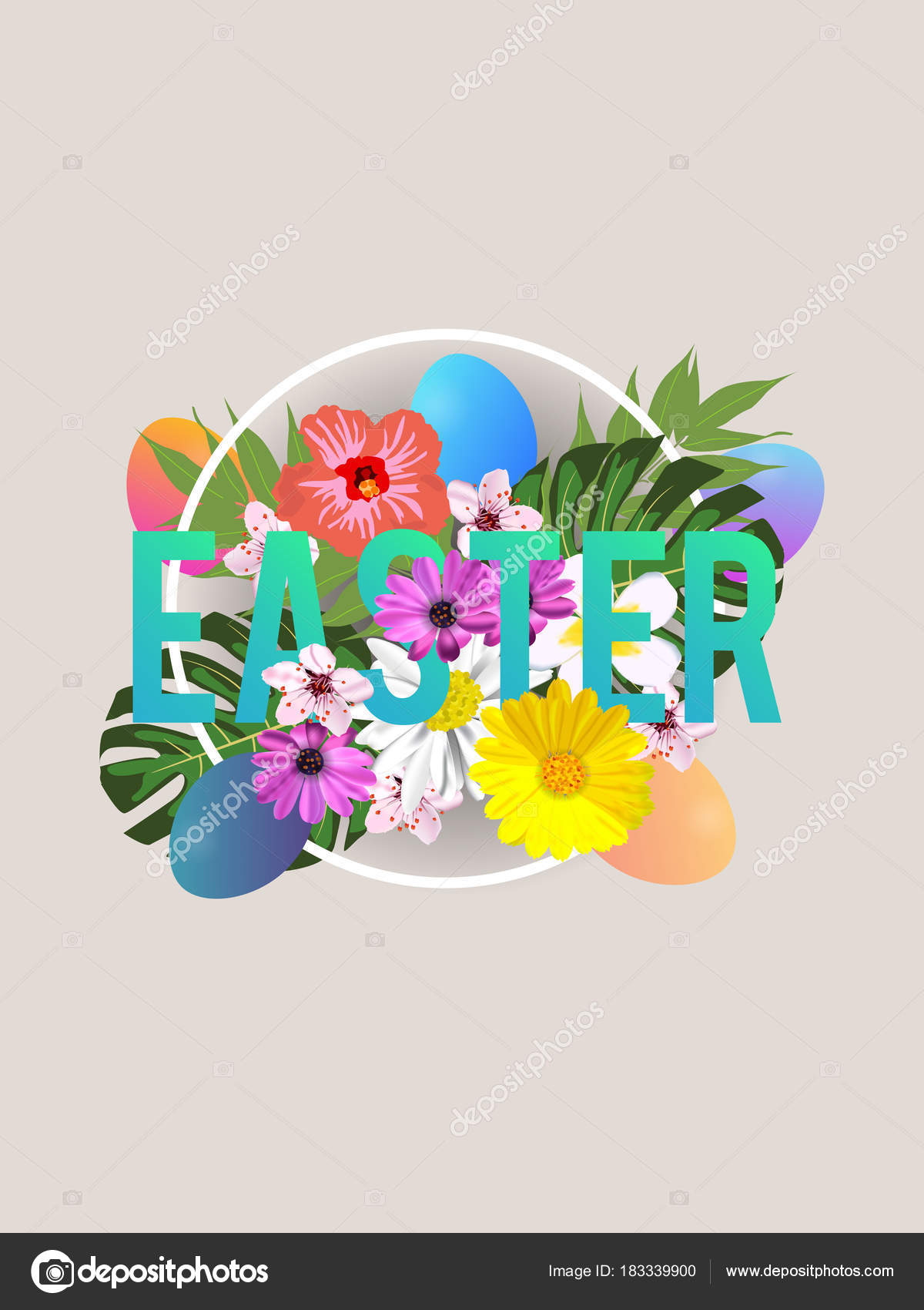 Aster sale banner background template beautiful colorful spring aster sale banner background template beautiful colorful spring flowers eggs stock vector mightylinksfo