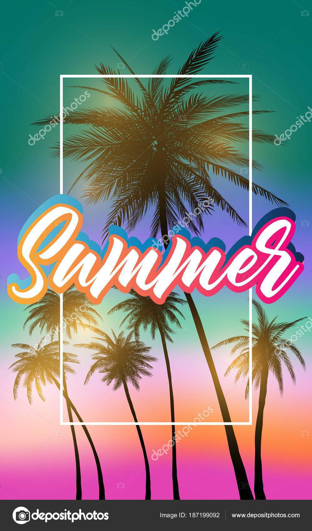 summer california tumblr backgrounds set palms sky sunset summer