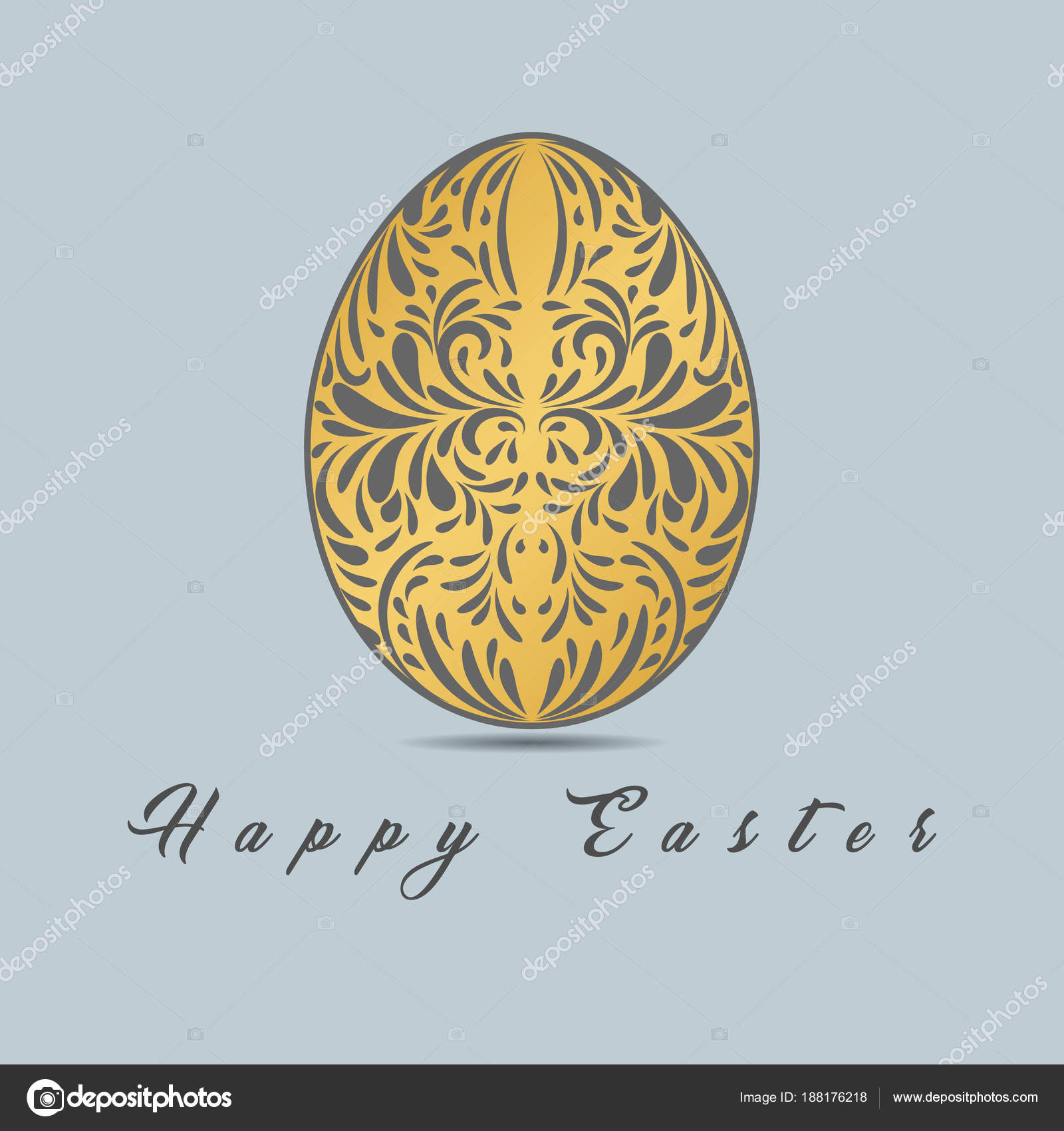 Outstanding Easter Egg Coloring Picture Composition - Coloring Page ...