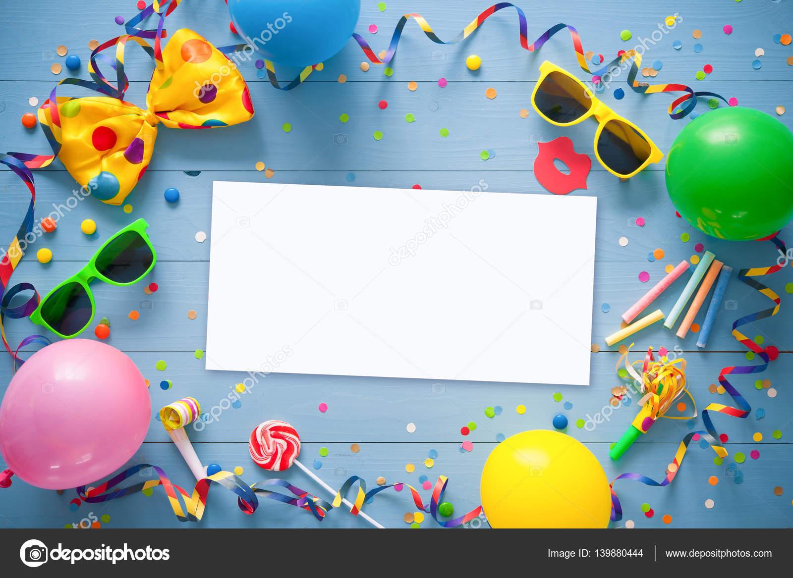 Colores de fondo cumpleaños o Carnaval — Fotos de Stock © alexraths ...
