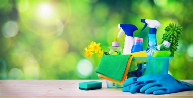 Cleaning concept. Housecleaning, hygiene, spring, chores, cleani