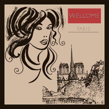 Paris, France- JUNE  27, 2014: Notre Dame Cathedral. Illustrative editorial.