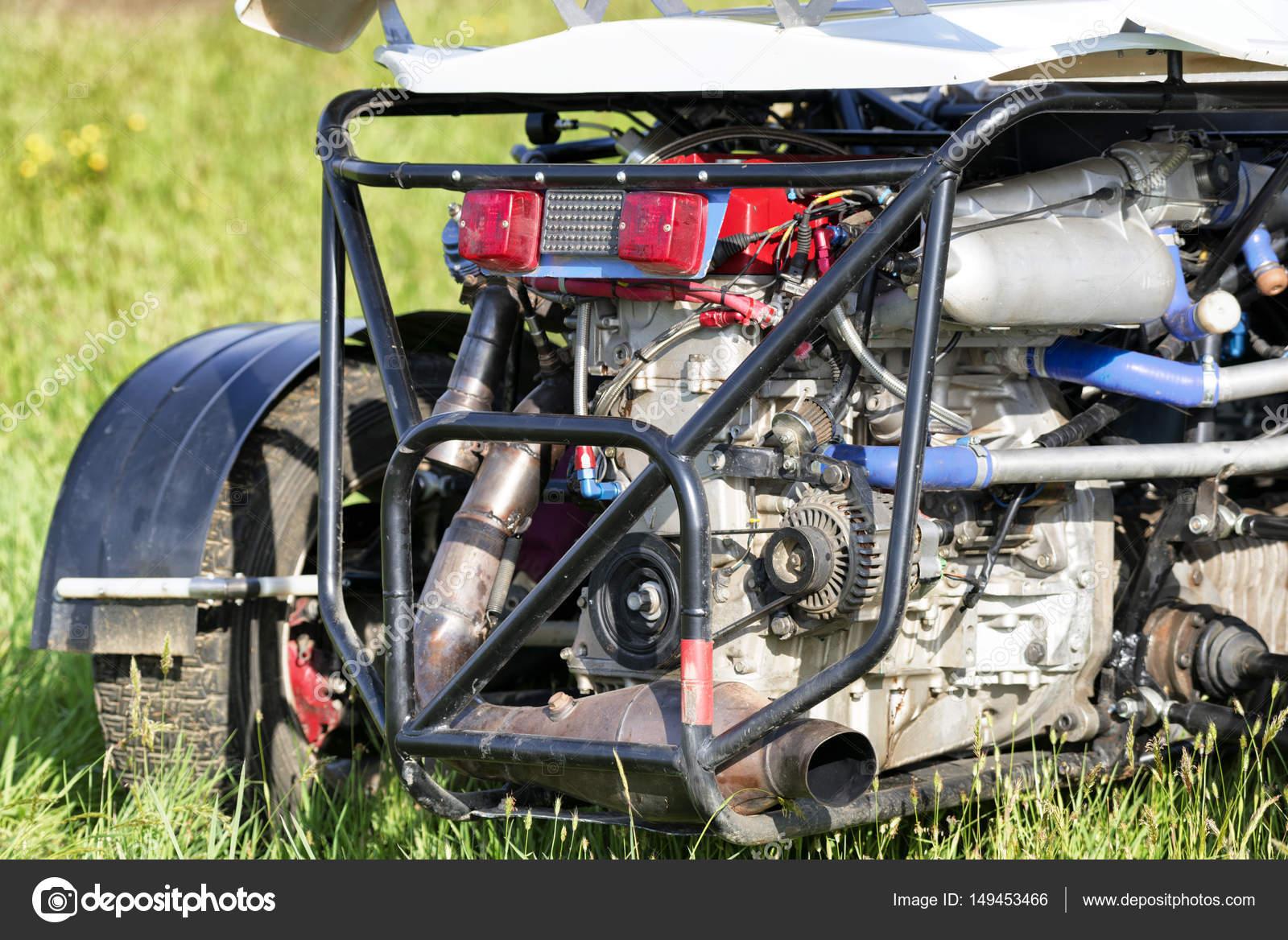 Rennen-Auto-Motor — Stockfoto © ilfede #149453466