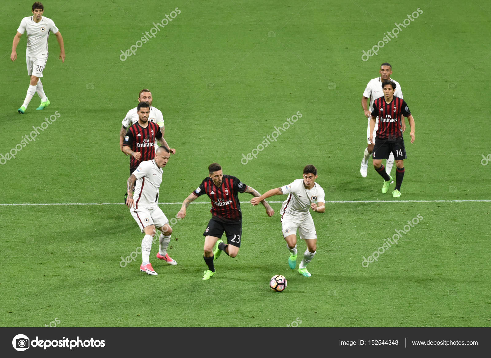Результат Матча Рома Милан