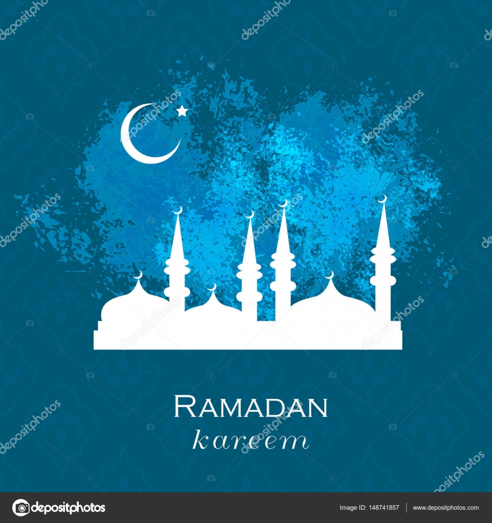 Ramadan Greetings Background Stock Vector Foxyliam 148741857