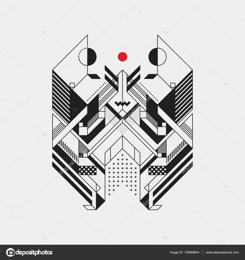 Arriere Plan Abstrait De Forme Geometrique Illustration Vectorielle Image Vectorielle Miaou Miaou C 138468644