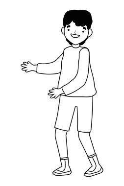 Isolated man vector design vector illustration