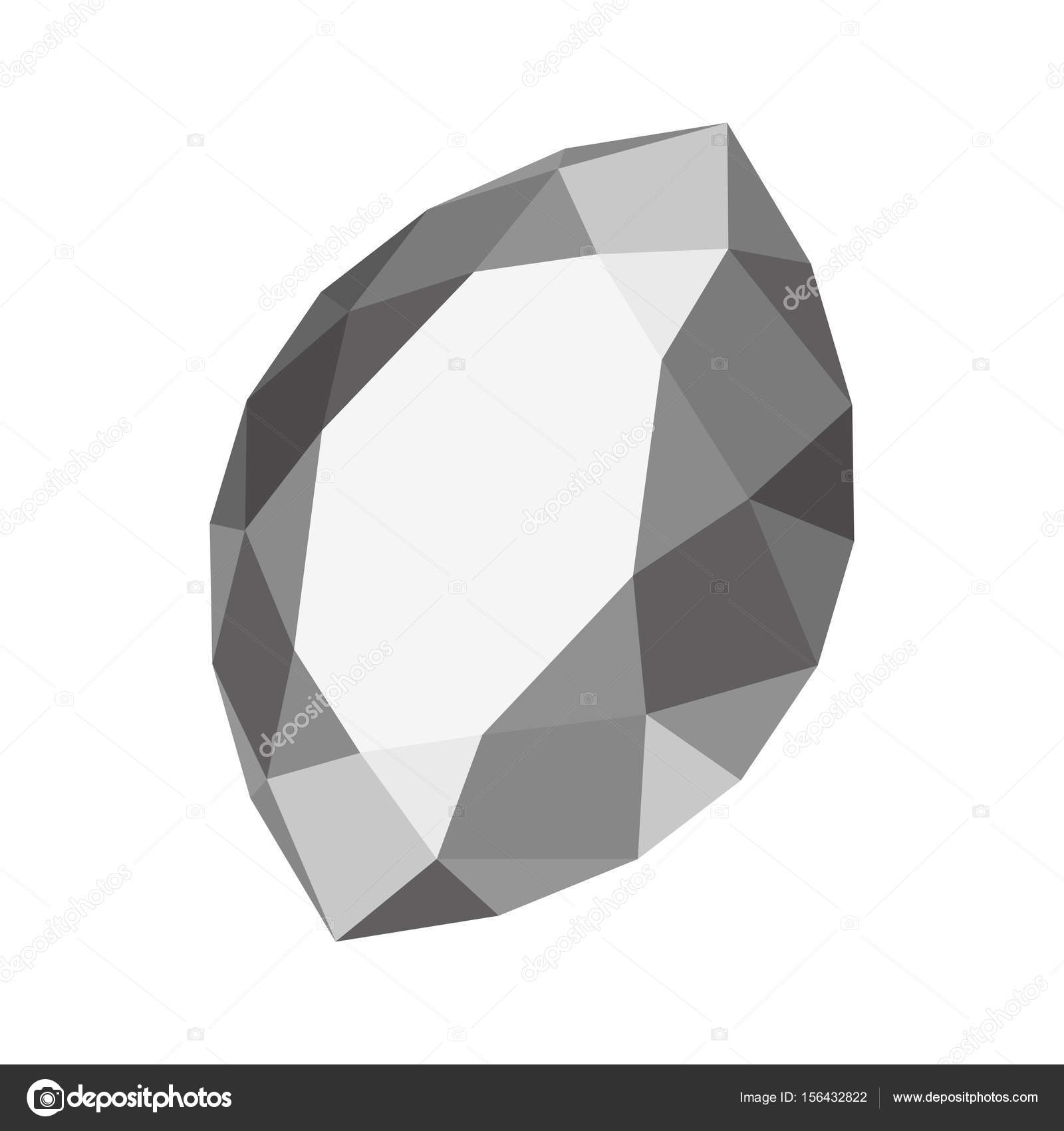 gemstone vector marquise apendon shaped illustration stock depositphotos