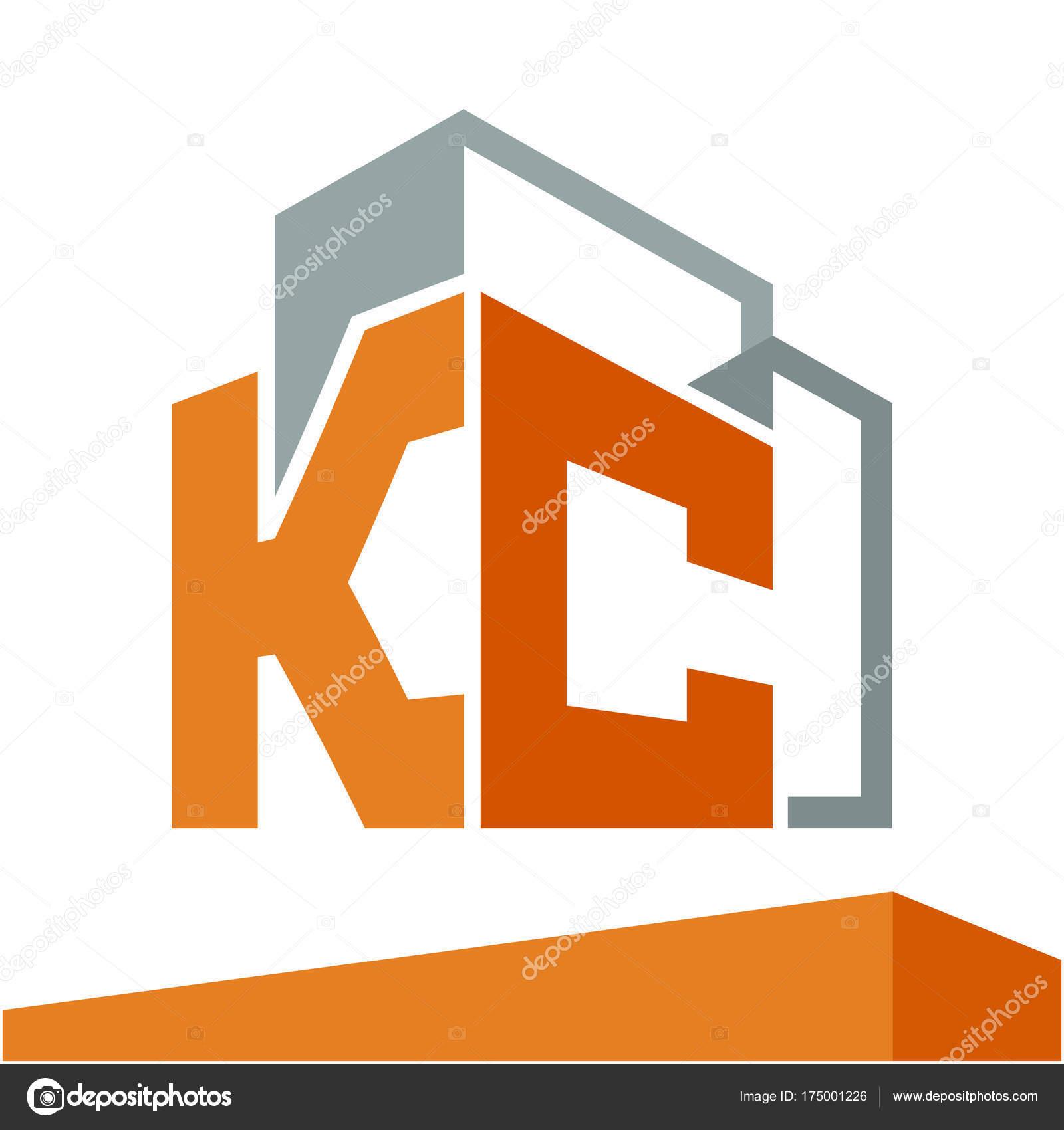 Logo Icono Inicial Para Desarrollo Empresas Servicios Construcción ...