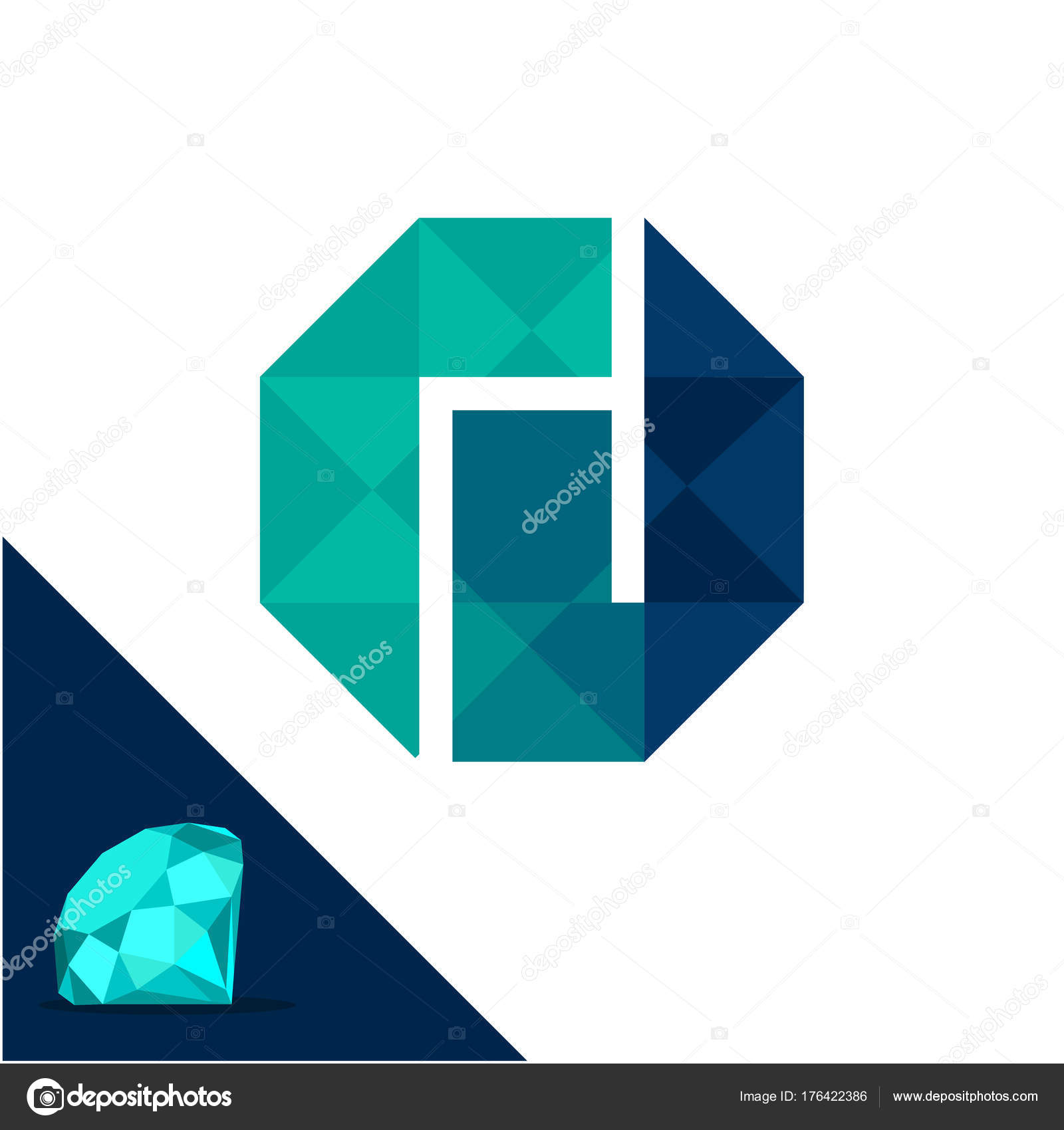 icon image diamond vector logo stock gemstone shutterstock