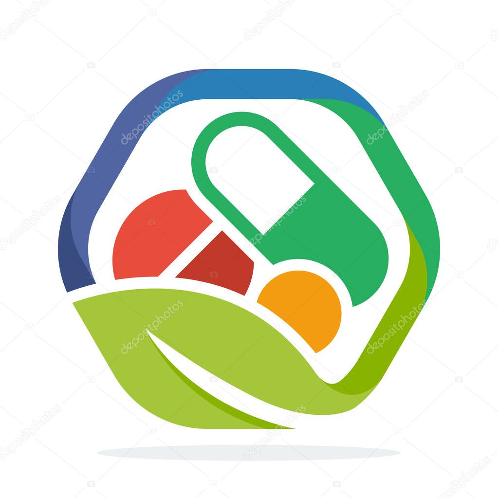 logo icon for herbal medicine business