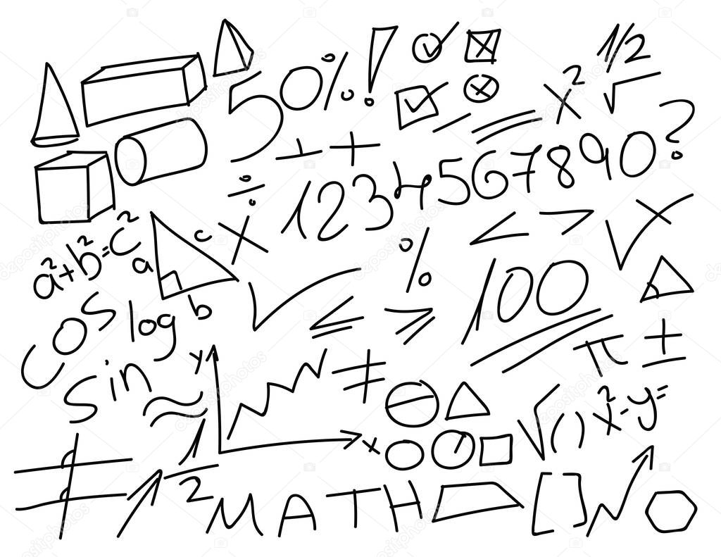 Бандитами, как нарисовать математическую картинку карандашом