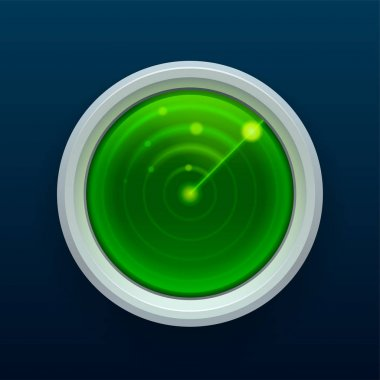 Radar monitor icon